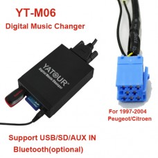 Citroen  MP3 USB/SD  MP3 adapteris YATOUR RD3