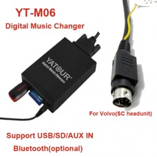 Volvo USB MP3 adapteris SC grotuvams