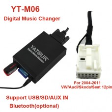ŠKODA MP3 USB/SD ADAPTERIS YATOUR 12PIN.